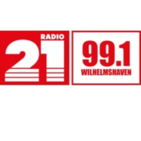 Logo of radio station RADIO 21 - Wilhelmshaven