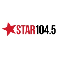 Logo de la radio Star 104.5 FM