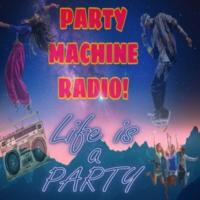 Logo de la radio PARTY MACHINE RADIO
