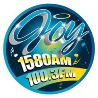 Logo of radio station WWSJ Joy 1580 AM / 100.3 FM