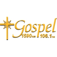 Logo of radio station KPRT Gospel 1590 AM