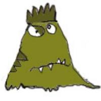 Logo de la radio Laut fm Monster musik