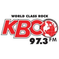 Logo of radio station 97.3 KBCO