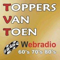 Logo de la radio Toppers van Toen