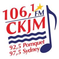 Logo de la radio 106.1 FM CKJM