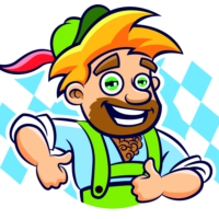 Logo of radio station 100% Oktoberfest vom Feierfreund