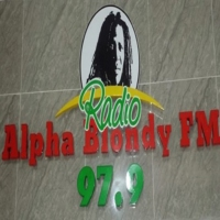 Logo de la radio alphablondyfmci