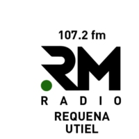 Logo of radio station RM Radio 107.2