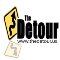Logo de la radio WETX The Detour