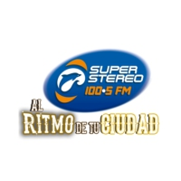 Logo of radio station Super Stereo 100.5 FM