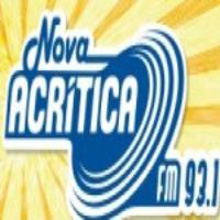 Logo of radio station Rádio A Crítica FM