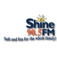 Logo of radio station CKRD-FM 90.5 ShineFM