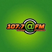 Logo of radio station @FM 107.7 FM