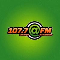 Logo de la radio @FM 107.7 FM