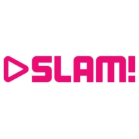 Logo of radio station SLAM! FM