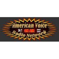 Logo of radio station American Voice Radio