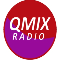 Logo of radio station QMIX Radio
