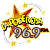 Logo de la radio XHMUG La Poderosa 96.9 FM