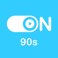"Logo of radio station ""ON 90s"""