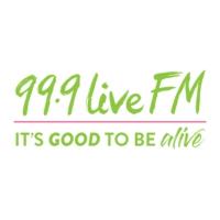 Logo de la radio 99.9 Live FM
