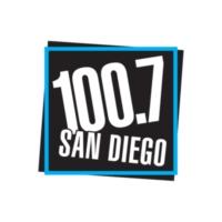 Logo of radio station KFMB-FM 100.7 San Diego