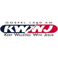 Logo of radio station KWWJ Gospel 1360