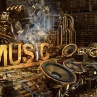 Logo of radio station HP-SOUND
