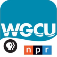 Logo of radio station WGCU 90.1 FM