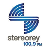 Logo of radio station XHCAA Stereorey 100.9 FM