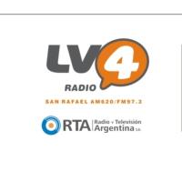 Logo de la radio LV4 Radio San Rafael