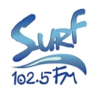 Logo of radio station Surf 102.5