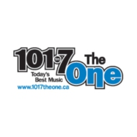 Logo of radio station CKNX-FM 101.7 The One