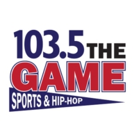Logo of radio station KGA-AM 103.5 The Game