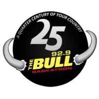 Logo of radio station CKBL-FM 92.9 The Bull