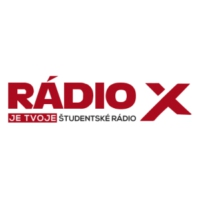 Logo of radio station Rádio X