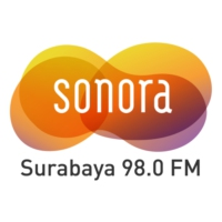Logo of radio station Radio Sonora Surabaya