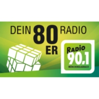 Logo of radio station Radio 90.1 – Dein 80er Radio