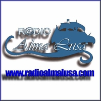 Logo of radio station Rádio Alma Lusa