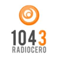 Logo de la radio Cero 104.3 FM