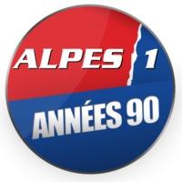 Logo of radio station Alpes 1 Années 90