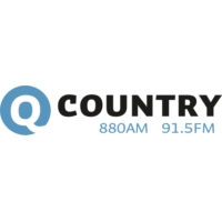 Logo of radio station CKLQ-FM Q Country 91.5FM