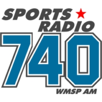 Logo of radio station WMSP Sports Radio 740