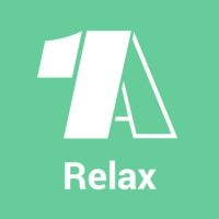 Logo of radio station - 1A Relax -