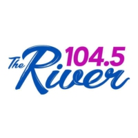 Logo of radio station WRVR 104.5 The River