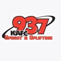 Logo of radio station KAFC FM 93.7