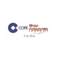 Logo of radio station Onda Naranja Cope