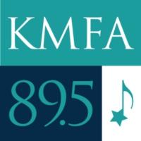 Logo of radio station KMFA Classical 89.5