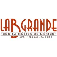 Logo de la radio XEB La B grande de México