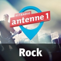 Logo of radio station antenne 1 Rock