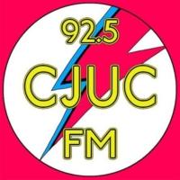 Logo of radio station CJUC 92.5 FM